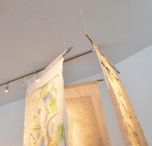 fiber art, ceiling view
